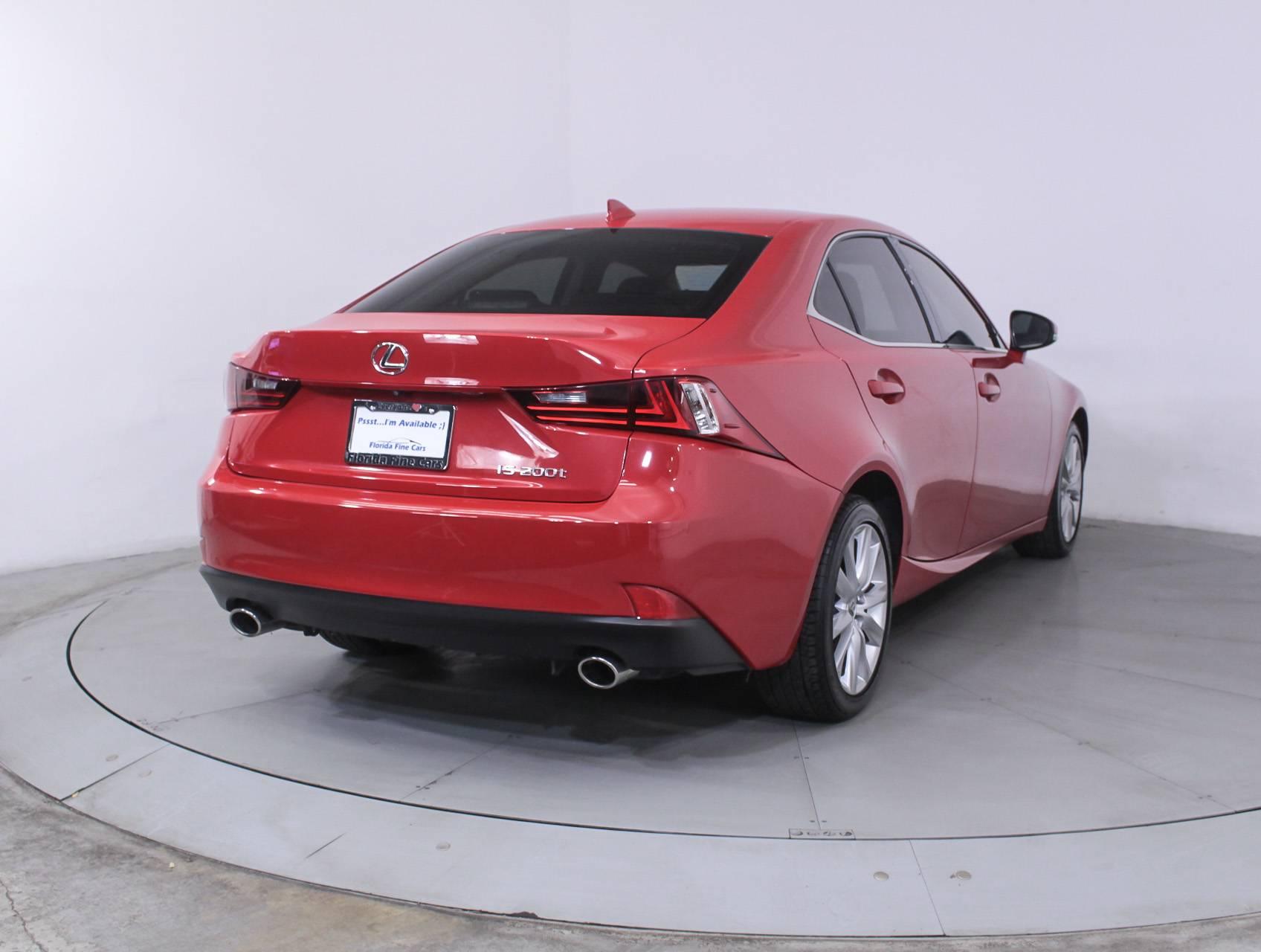Used 2016 LEXUS IS 200T Sedan for sale in MIAMI FL