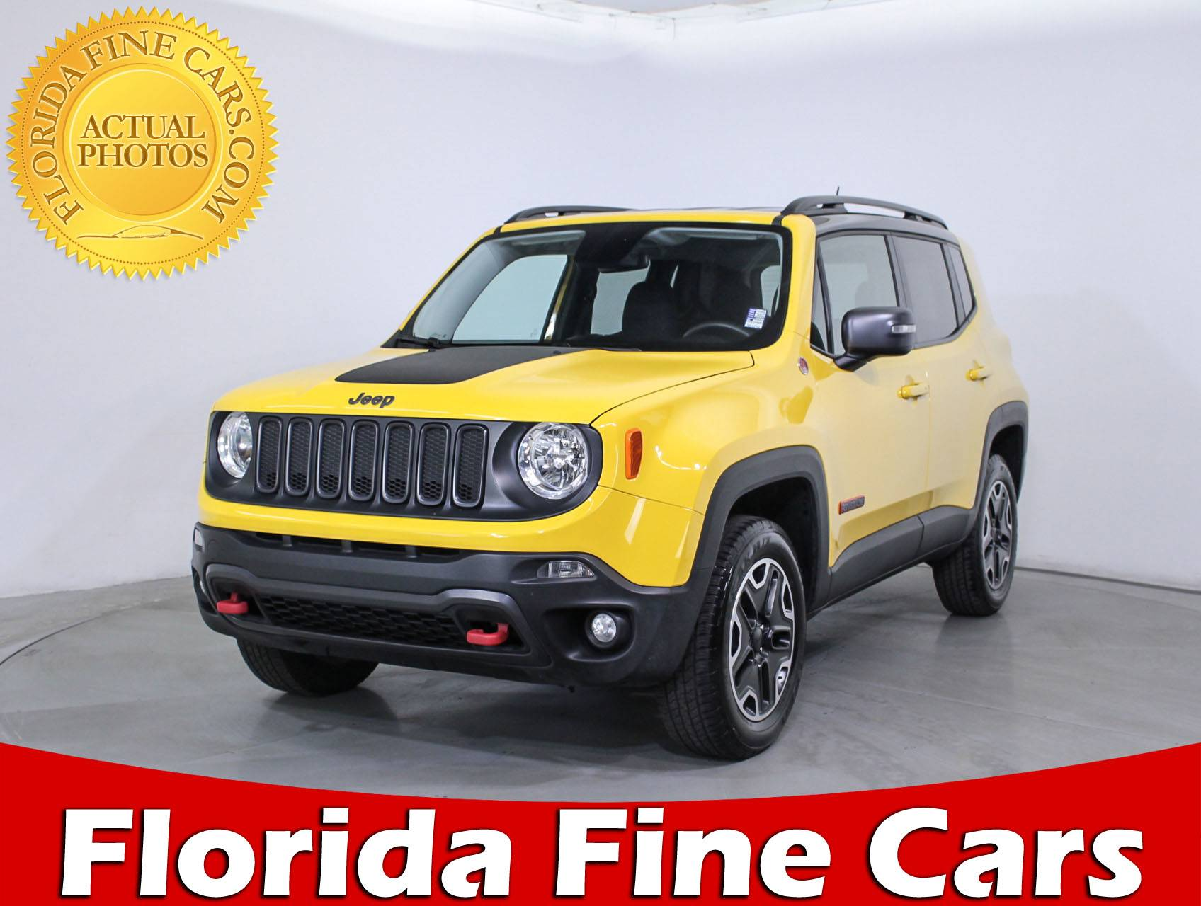 Used 2017 JEEP RENEGADE TRAILHAWK SUV for sale in HOLLYWOOD FL