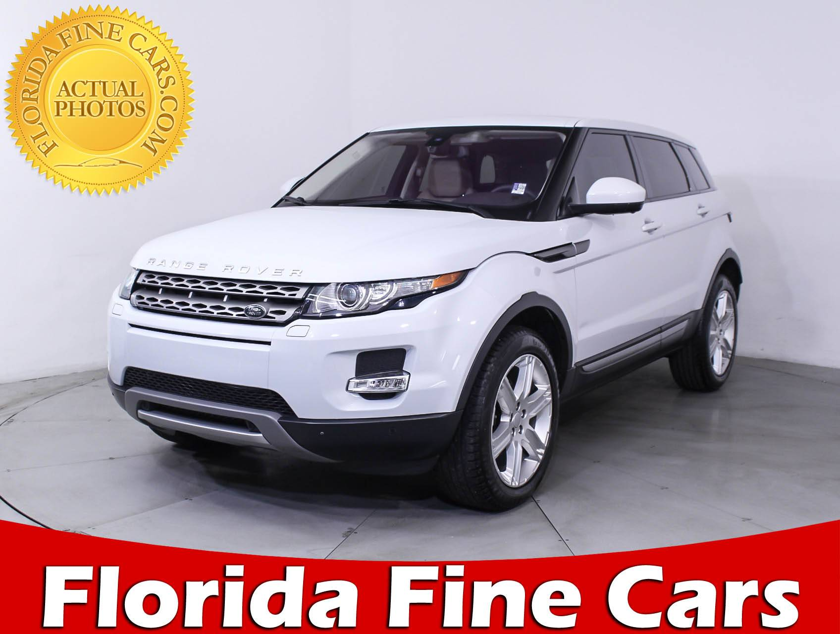 Used 2015 LAND ROVER RANGE ROVER EVOQUE PURE PREMIUM SUV for sale