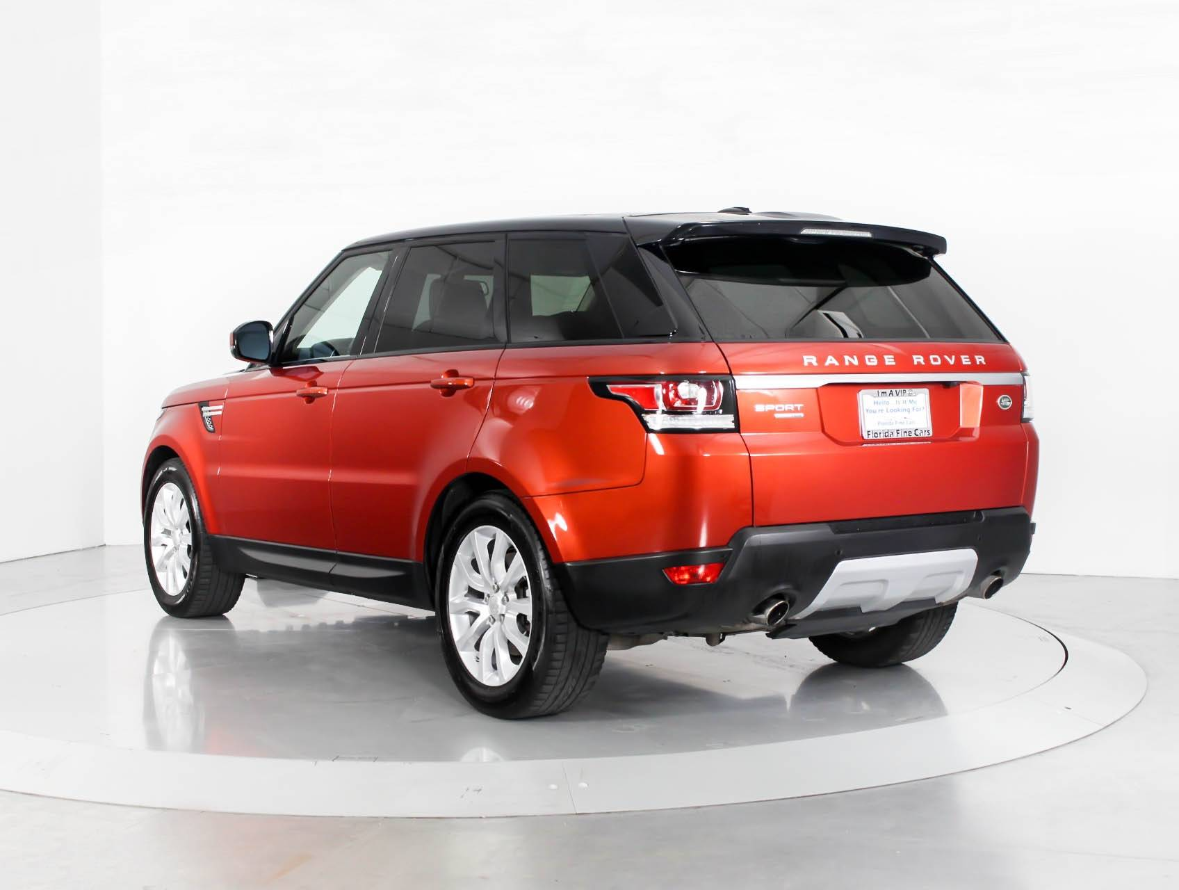 Used 2015 LAND ROVER RANGE ROVER SPORT SUPERCHARGED SUV for sale
