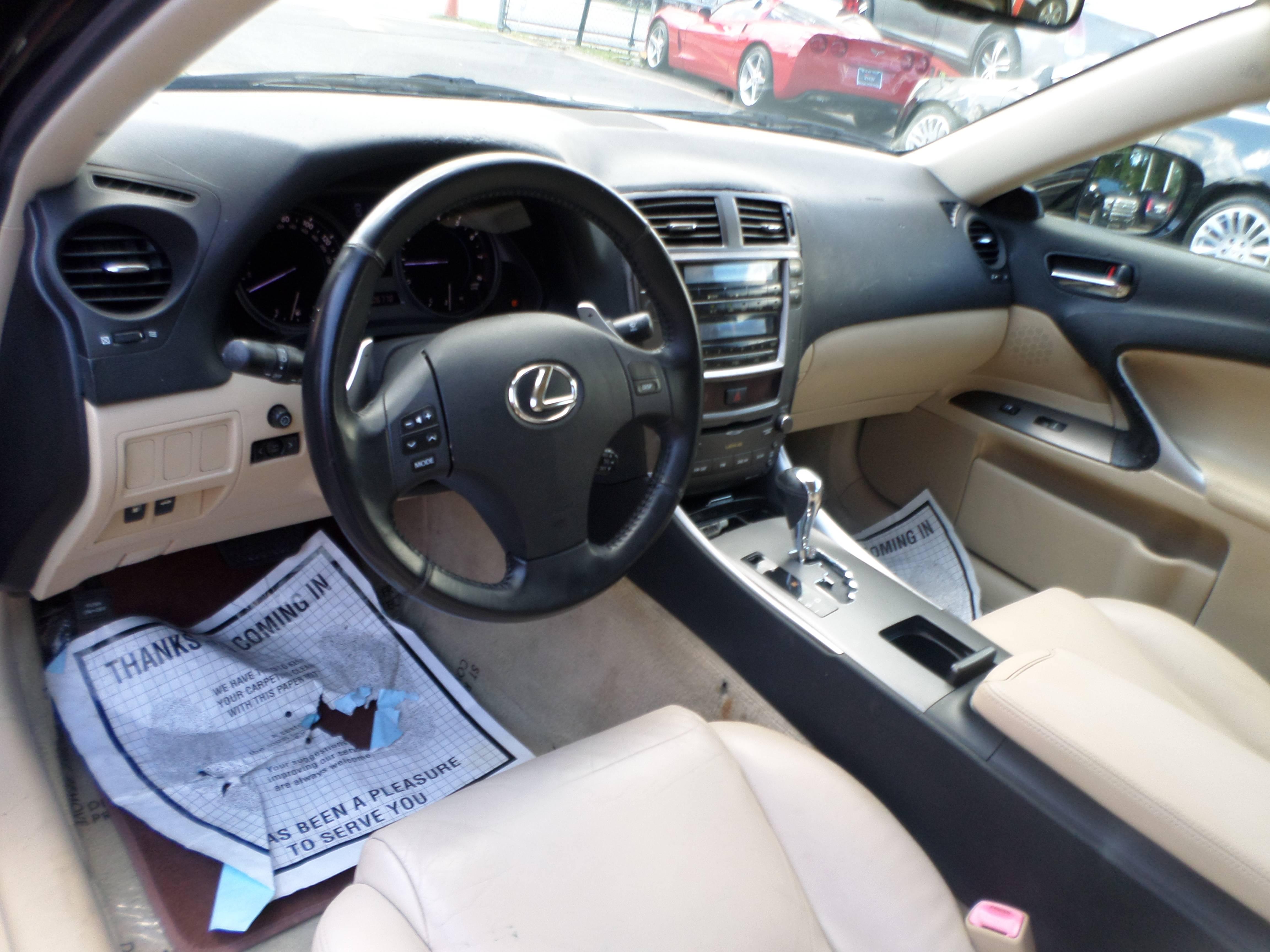 2007 Lexus IS IS 250 6 Speed Manual