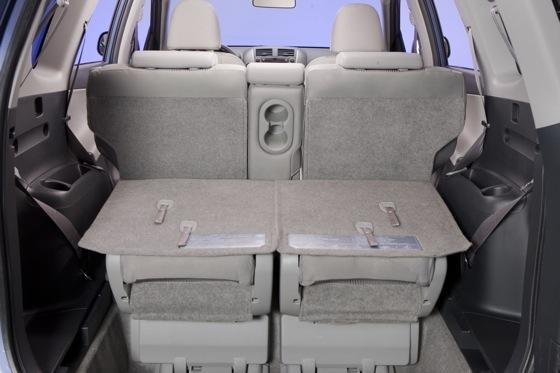 Seat Row Third Rav4 2013