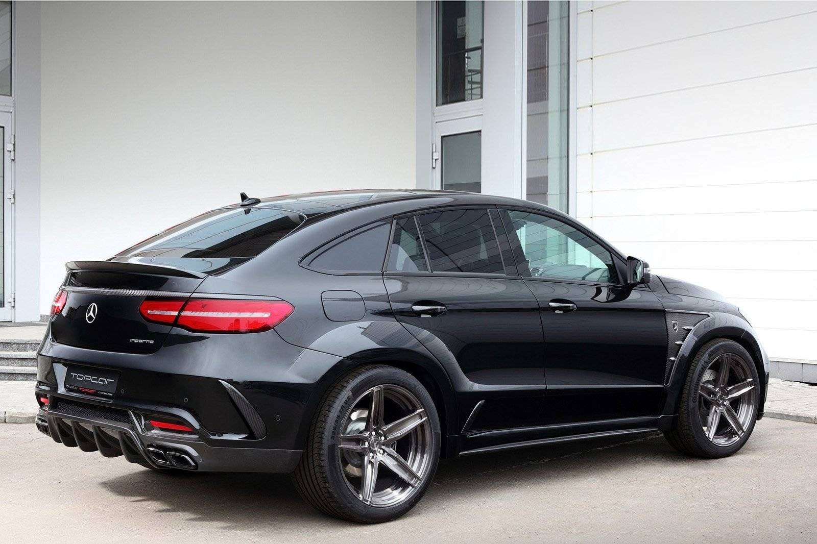 Topcar Vertimmert Mercedes GLE Coup Tuning Amp Styling