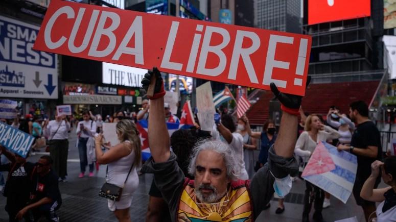 Cuba blocks social media access following protests - Axios