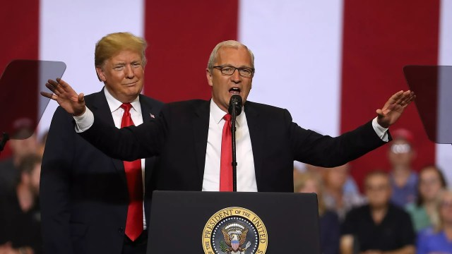 Kevin Cramer with Trump