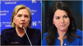Image result for Did Hillary Clinton's criticism help or hurt Tulsi Gabbard's