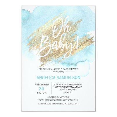 Baby Shower Invitations Custom For Showers