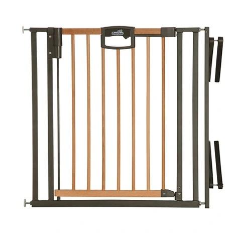 barriere d escalier easylock wood plus 84 5 92 5 cm