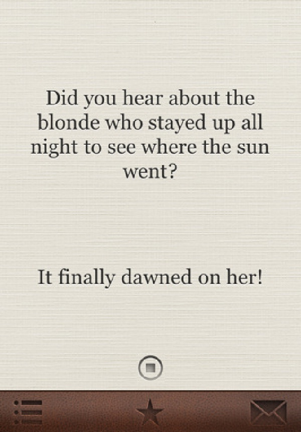 Blonde Jokes Will Make You Cry