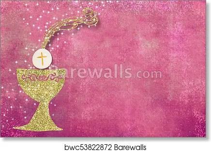 https www barewalls com art print poster first holy communion invitation bwc53822872 html