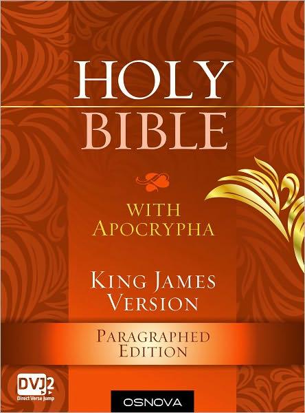 Holy Bible (KJV paragraphed with Apocrypha - OSNOVA)