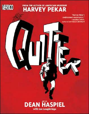 Book cover for The Quitter