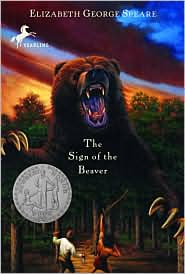 The Sign of the Beaver by Elizabeth George Speare: Book Cover