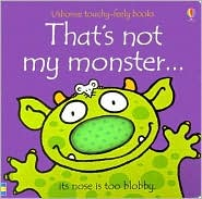That's Not My Monster by Fiona Watt: Book Cover