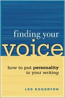 Finding Your Voice by Les Edgerton: Book Cover