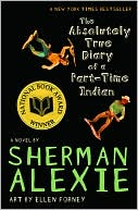 The Absolutely True Diary of a Part-Time Indian by Sherman Alexie: Book Cover