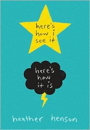 Here's How I See It by Heather Henson: Book Cover
