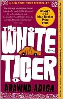 The White Tiger by Aravind Adiga: Book Cover
