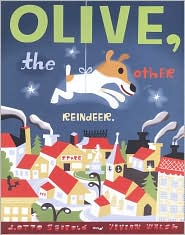 Olive, the Other Reindeer by J. Otto Seibold: Book Cover