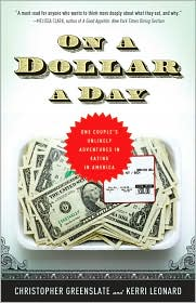 On a Dollar a Day by Christopher Greenslate: Book Cover