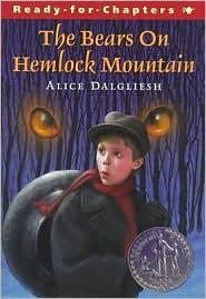 Bears on Hemlock Mountain by Alice Dalgliesh: Book Cover