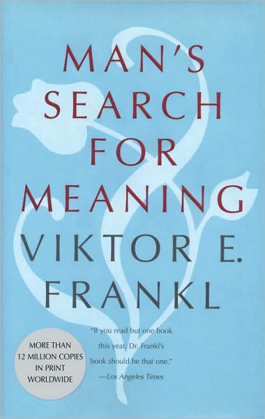 Book cover, Man's Search for Meaning