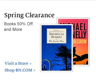 Spring Clearance. Books 50% Off and More. The Lucky One by Nicholas Sparks; The Scarecrow by Michael Connelly. Visit a Store / Shop BN.COM