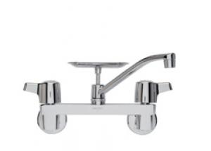 wallmount faucet w soap dish robinson