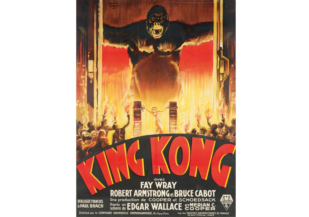 a king kong film poster could fetch