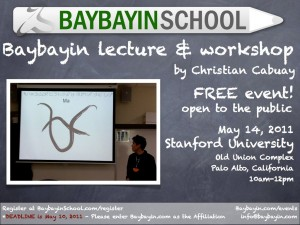 baybayin workshop stanford university
