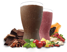 Tropical Strawberry and Chocolate Vegan Shakeology Shakes