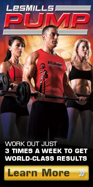 LES MILLS PUMP. Work out just 3 times a week to get world-class results. Learn More.