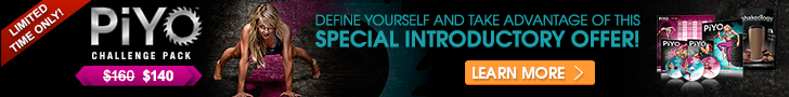PiYo CHALLENGE PACK: DEFINE YOURSELF AND TAKE ADVANTAGE OF THIS SPECIAL INTRODUCTORY OFFER!