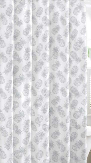 tommy bahama tossed pineapples shower curtain