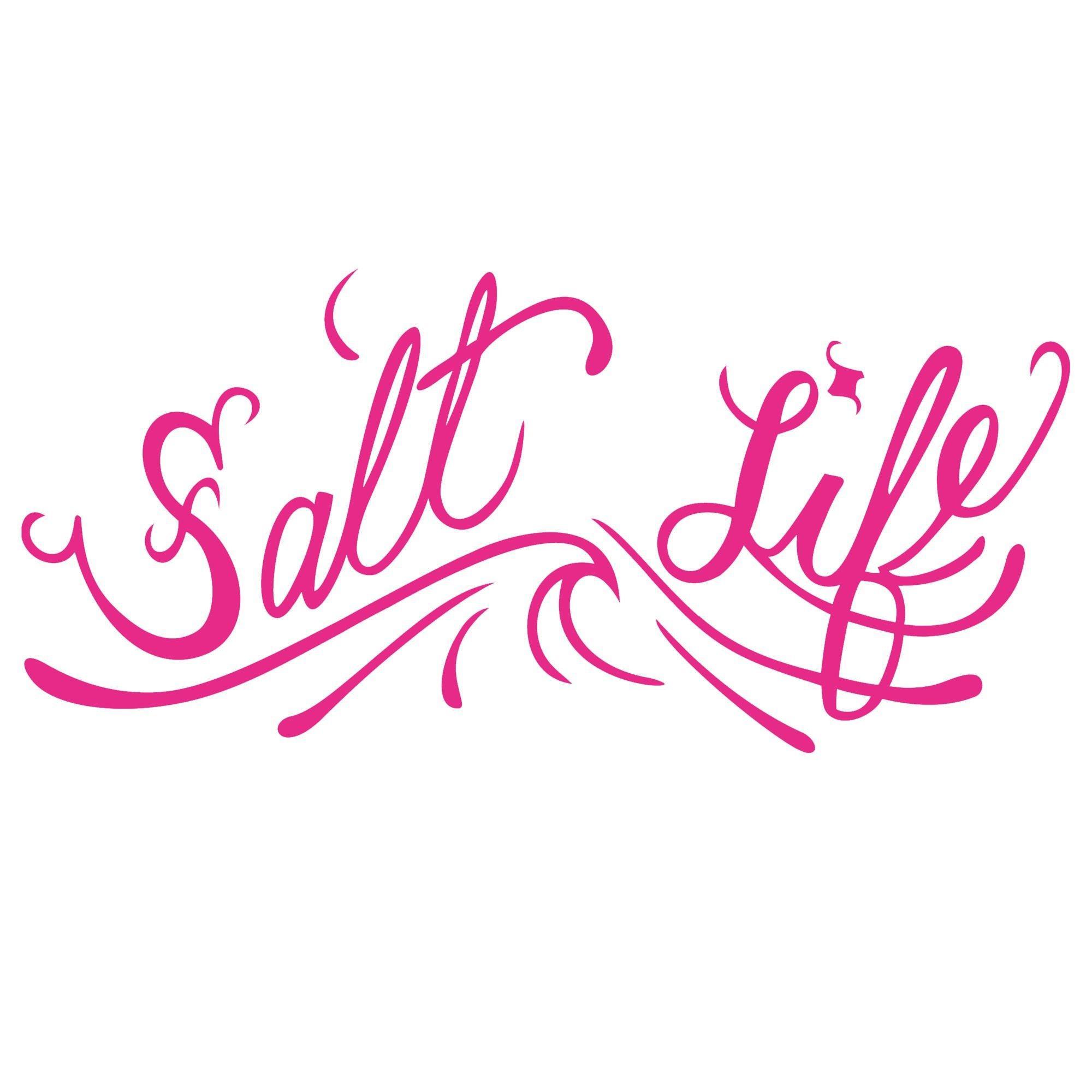 Salt Life Signature OG Pink Logo Decal Bealls Florida