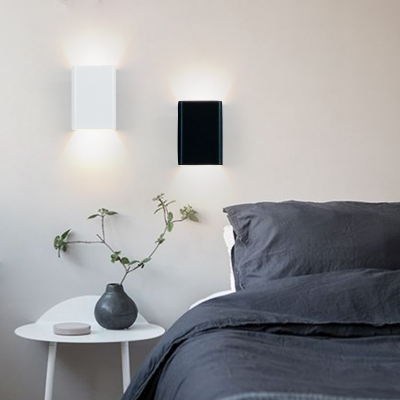 """Small Wall Sconce 3.94"""" Wide Decorative Led Square Wall ... on Small Wall Sconce Light id=50113"""