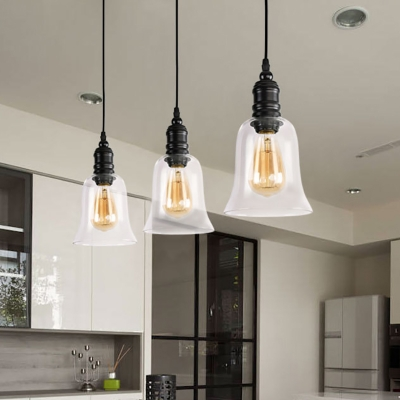 modern pendant ceiling light metal and glass single bulb hanging pendant lights for kitchen dining