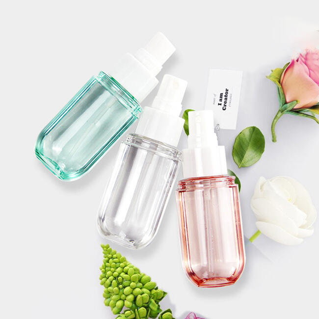 Portable Alcohol Disinfectant Perfume Capsule-Shaped Spray Bottle