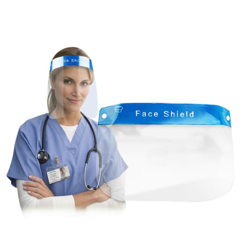 Splash-Proof Isolation Safety Face Shield