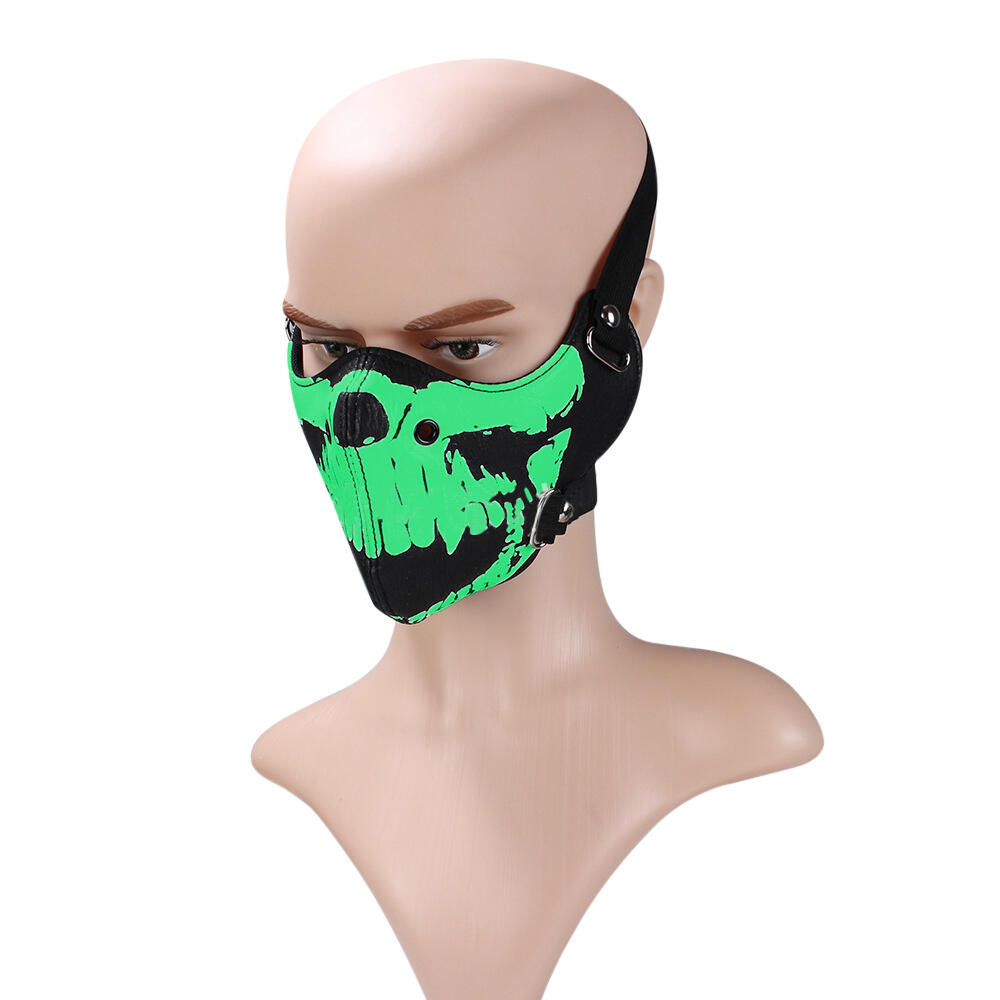 Luminous Skull Anti-Dust Fashion Face Mask