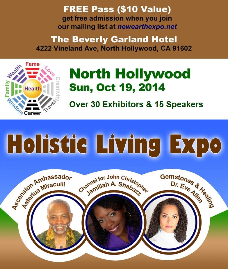LA Holistic Living Expo Banner