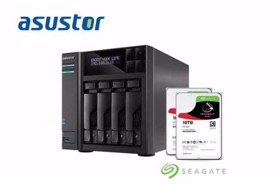 asustor_Seagate+IronWolf+10TB