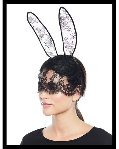 Lace Mask & Bunny Ears
