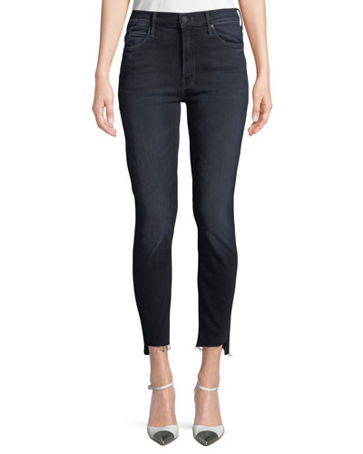 Stunner Zip Two Step Fray Skinny Jeans