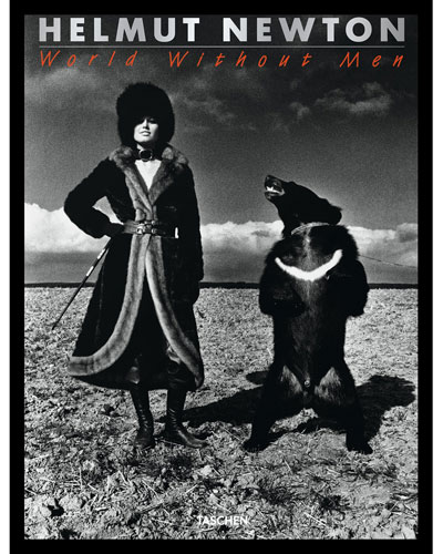 Helmut Newton: World Without Men Hardcover Book