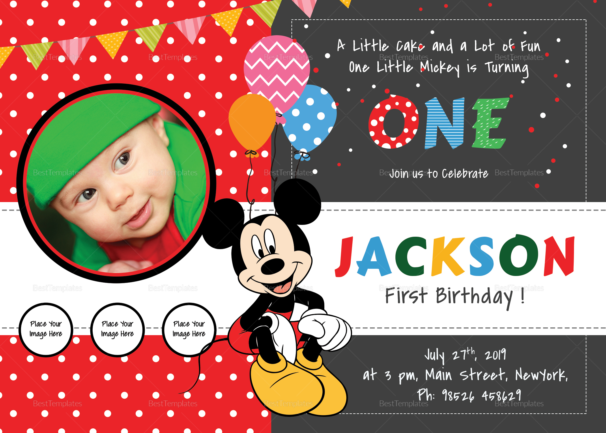 exciting mickey mouse birthday
