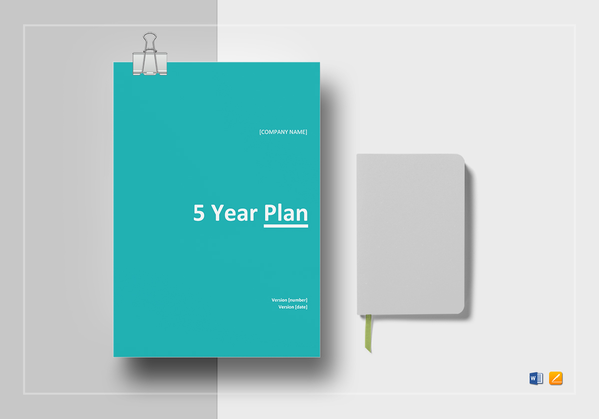 Five Year Plan Template In Word Docs Apple Pages