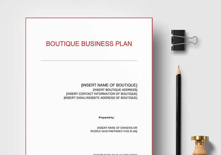 HD Decor Images » Boutique Business Plan Template in Word  Google Docs  Apple Pages Boutique Business Plan Template