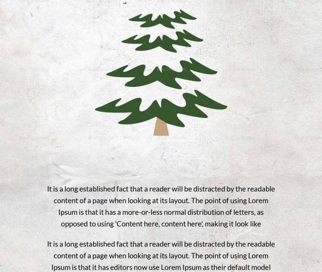 Editable Christmas Tree Thank You Card
