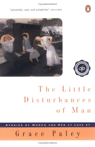 image of the book cover of Grace Paley's book, Little Disturbances of Man